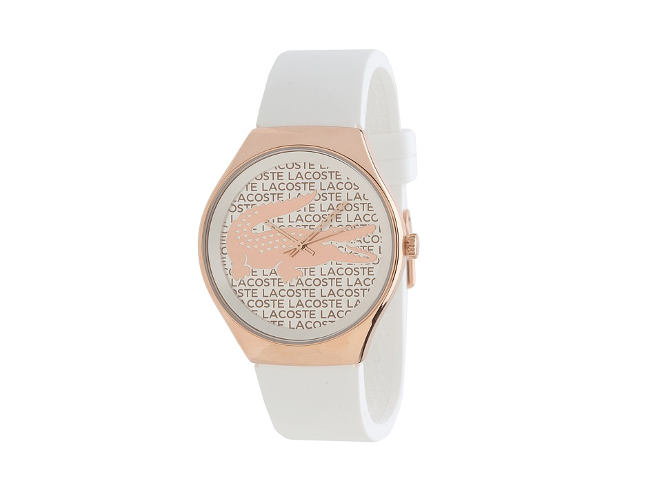 Lacoste - Valencia (White/Rose Gold) Watches