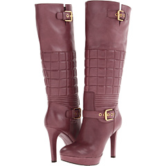 Rockport Janae Quilted Tall Boot (Beet) Footwear