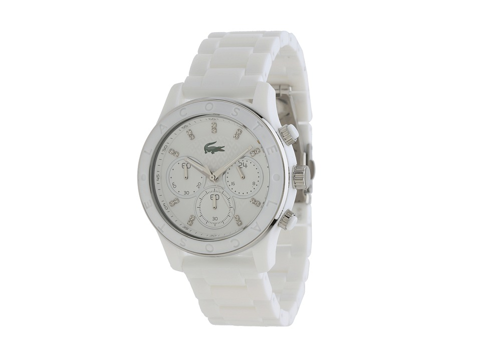 Lacoste - Goa Colors (White) Chronograph Watches