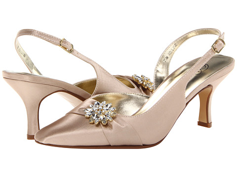 Bouquets Adeline (Champagne) Women's Sling Back Shoes