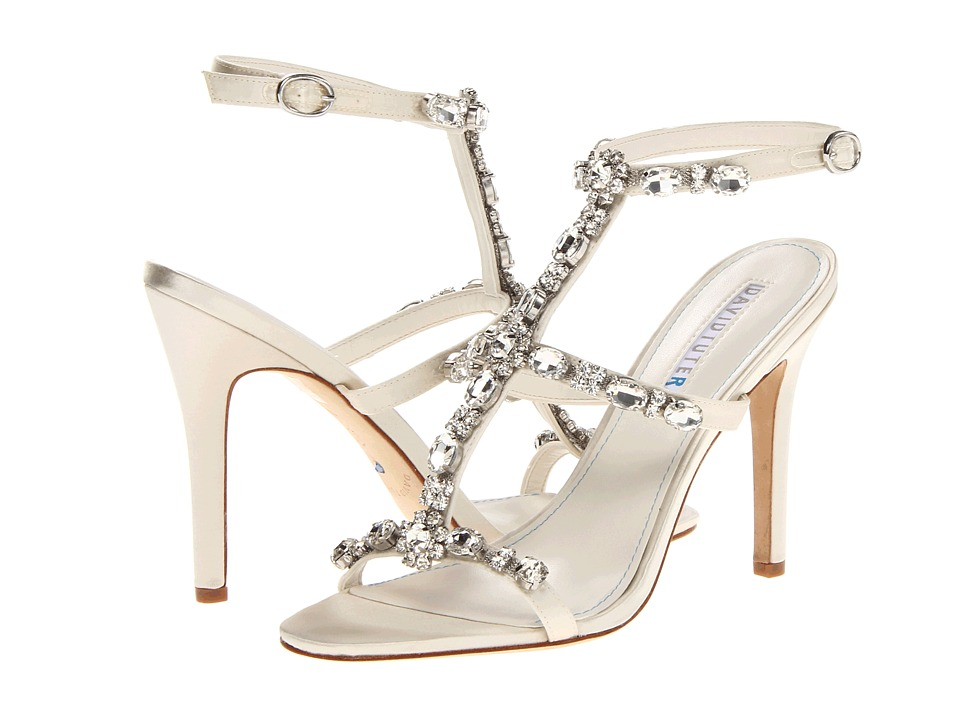 David Tutera Worthy (Ivory Satin) High Heels