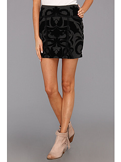 SALE! $39.99 - Save $48 on Free People Going For Baroque Skirt (Charcoal Combo) Apparel - 54.56% OFF $88.00
