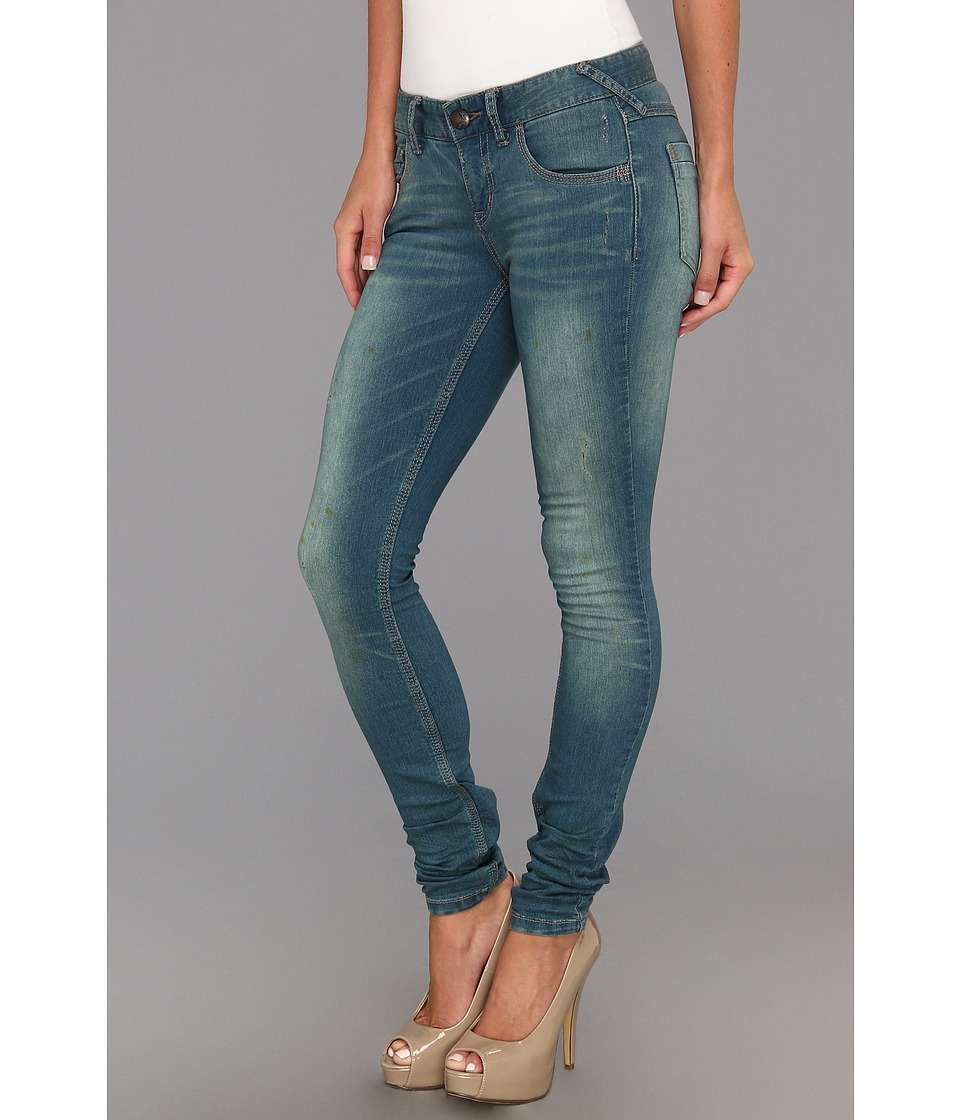 Free People - Denim Skinny (Benny Wash) Women's Jeans
