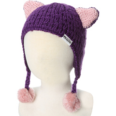 SALE! $14.99 - Save $18 on Appaman Kids Kitten Ear Trapper Hat (Infant Toddler) (Medieval Purple) Hats - 54.58% OFF $33.00