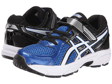 ASICS Kids - Pre-Contend 2 PS (Toddler/Little Kid) (Royal/White/Black) Boys Shoes