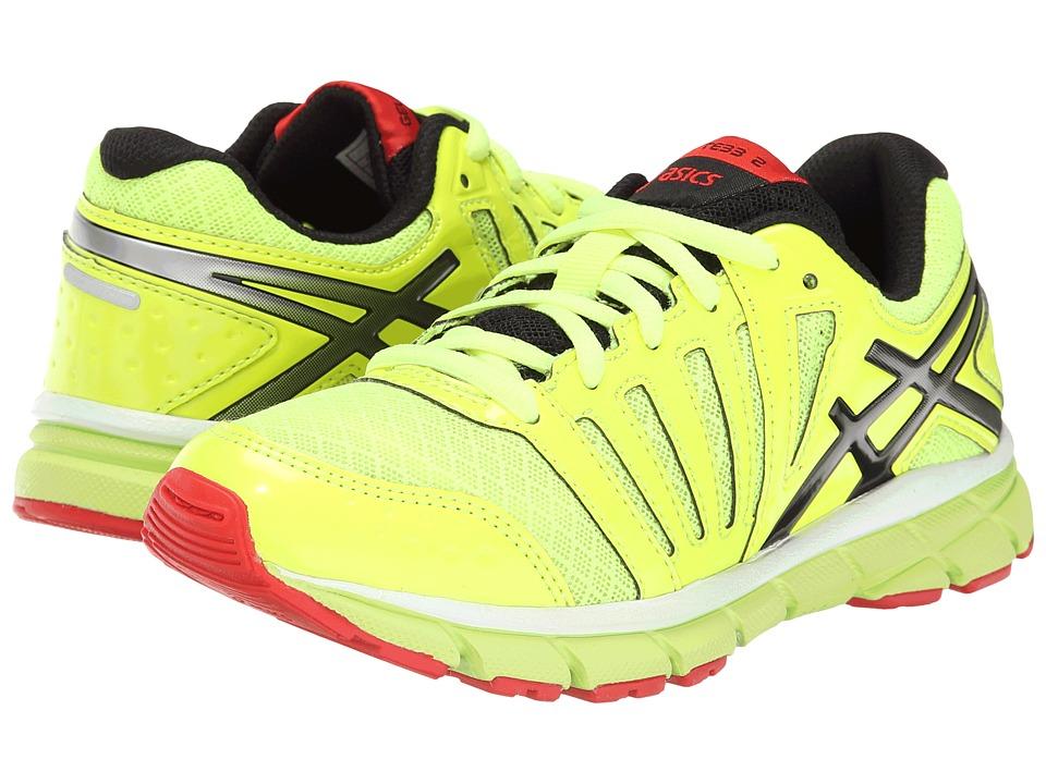 ASICS Kids - Gel-Lyte33 2 GS (Little Kid/Big Kid) (Flash Yellow/Lightning/Red) Boys Shoes