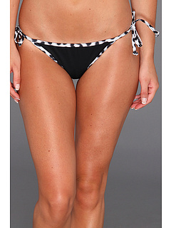 SALE! $19.99 - Save $15 on Hurley Leopard Tie Side Bottom (Black) Apparel - 42.89% OFF $35.00