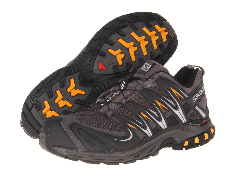 Salomon - XA Pro 3D (Autobahn/Black/Yellow Gold) Men's Shoes