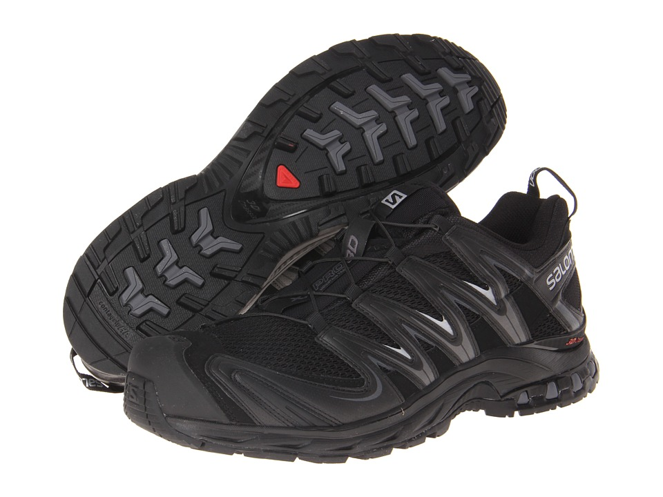 Salomon - XA Pro 3D (Black/Black/Dark Cloud) Men's Shoes