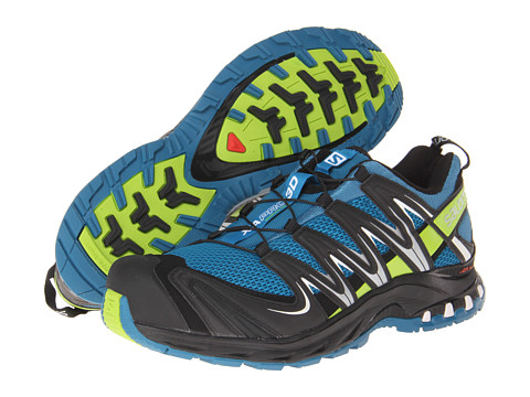 Salomon - XA Pro 3D (Darkness Blue/Granny Green/Black) Men