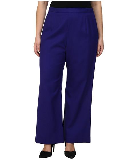 Pendleton - Plus Size Soft Leg Pant (Royal Purple Worsted Crepe) Women