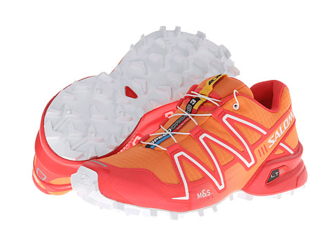 Salomon - Speedcross 3 (Orange Feeling/Papaya/White) Women's Running Shoes