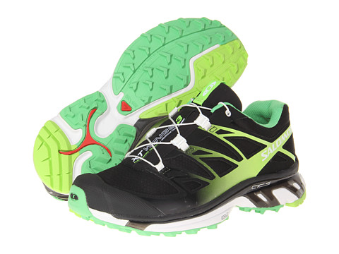 Salomon - XT Wings 3 (Black/Wasabi/Firefly Green) Women's Shoes