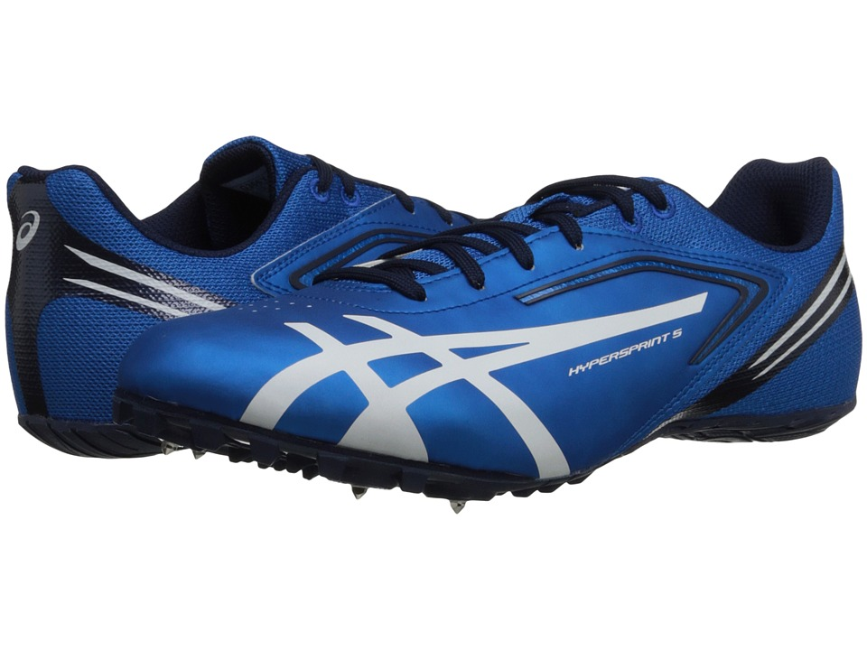 ASICS - Hypersprint(r) 5 (Blue/White/Black) Men's Running Shoes