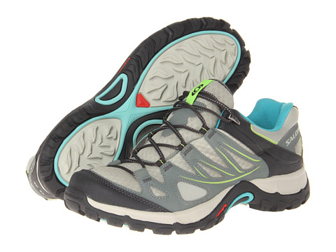 Salomon - Ellipse Aero (Chalk Grey/Light Tt/Moorea Blue) Women's Shoes
