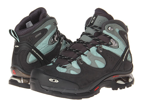 Salomon - Comet 3D Lady GTX (Igloo Blue/Asphalt/Chalk Grey) Women's Shoes