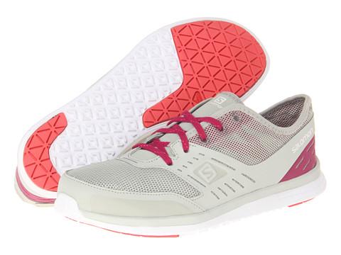Salomon - Cove (Chalk Grey/Mystic Purple/Papaya-B) Women's Shoes