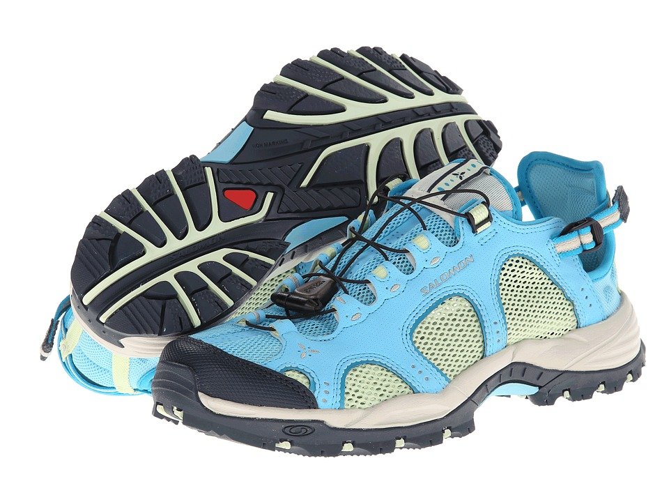 Salomon - Techamphibian 3 (Score Blue/Greentea/Boss Blue) Women's Shoes