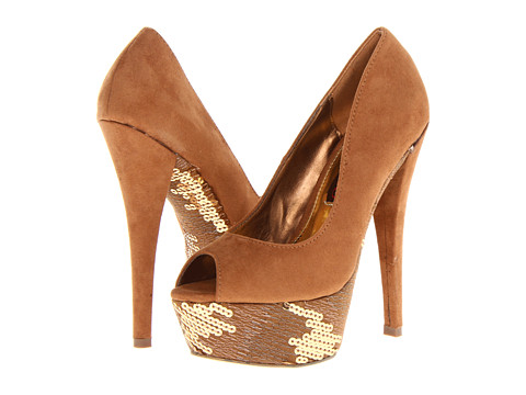2 Lips Too - Too Enthrall (Gold) High Heels
