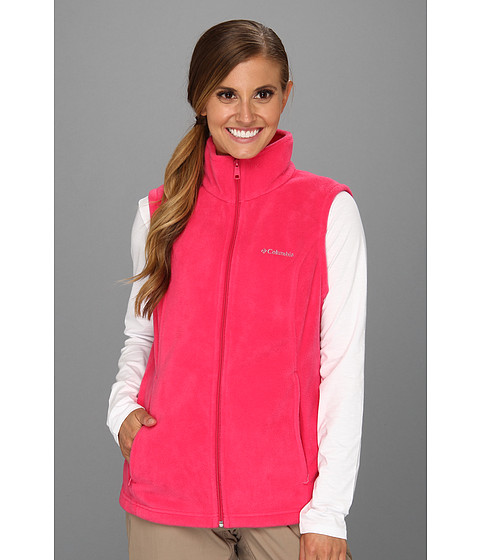 Columbia - Benton Springs Vest (Bright Rose) Women's Vest