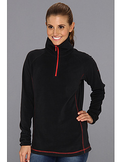 SALE! $45 - Save $0 on Columbia Glacial Fleece III 1 2 Zip (Black Red Hibiscus) Apparel - 0.00% OFF $45.00