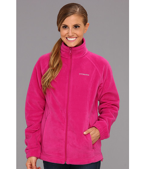 Columbia - Benton Springs Full Zip (Deep Blush) Women