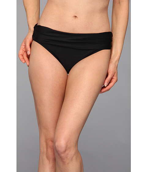 Athena - Heavenly Banded Pant (Black) Women's Swimwear