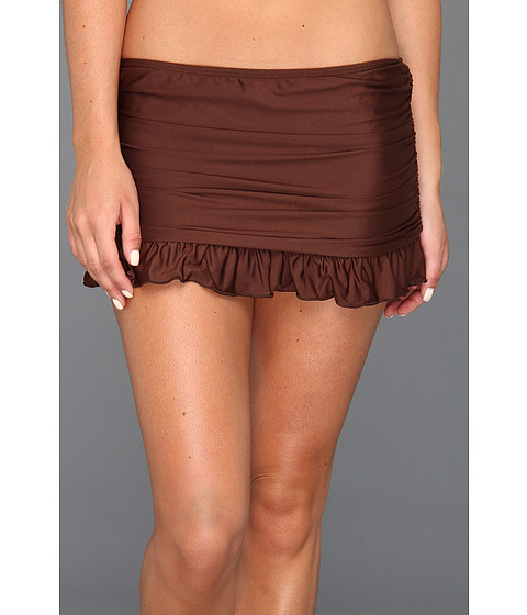 Athena - Heavenly Skirted Pant (Brown) Women's Swimwear