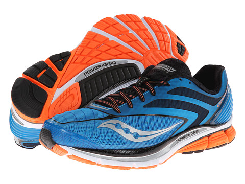 Saucony - Cortana 3 (Blue/Viziorange) Men's Running Shoes