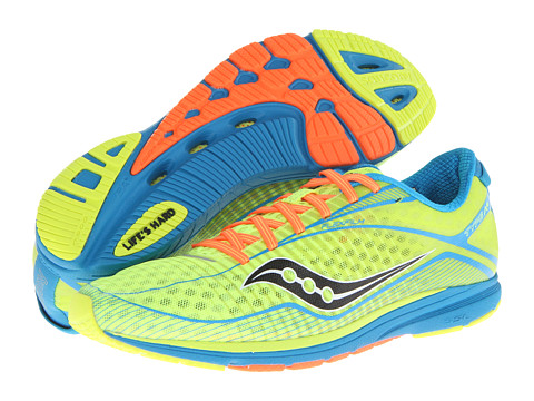Saucony - Type A6 (Citron/Blue/Orange) Men's Running Shoes