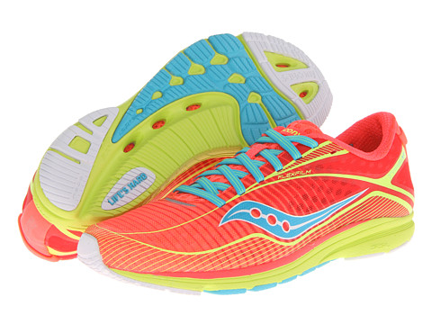 Saucony - Type A6 (Coral/Citron) Women's Shoes