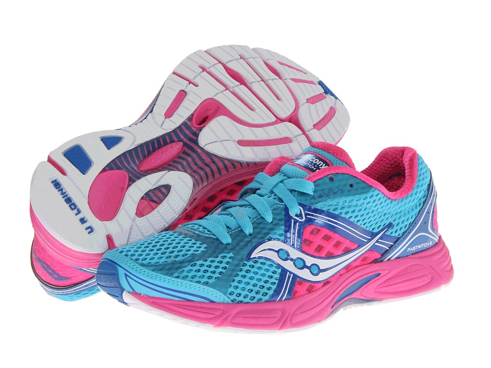 Saucony - Fastwitch 6 (Blue/Pink) Women's Running Shoes