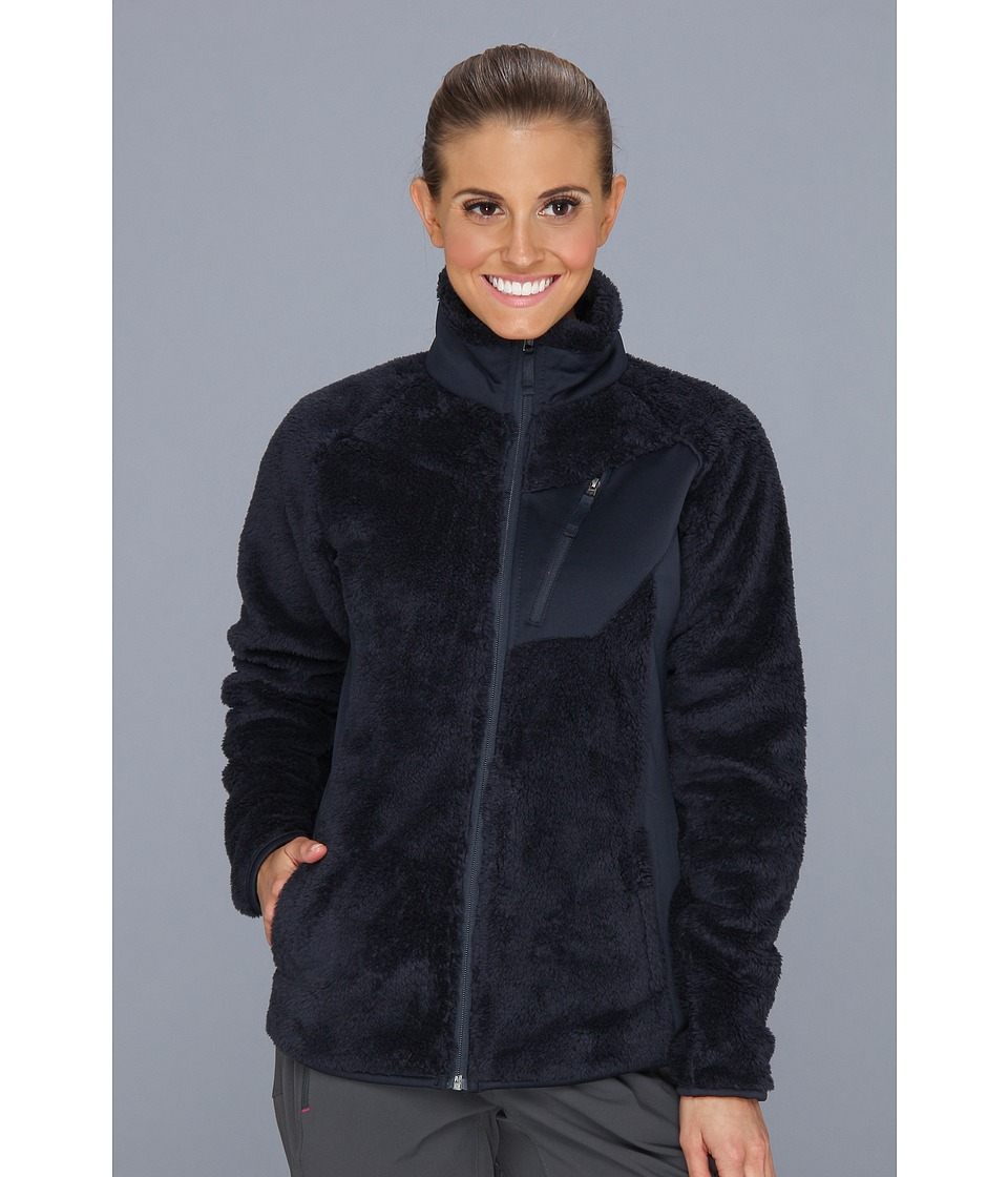 Columbia - Double Plush Sporty Full Zip (Abyss) Women's Coat