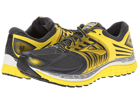 Brooks - Glycerin 11 (Anthracite/Vibrant Yellow/White) Men's Running Shoes