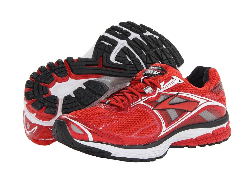 Brooks - Ravenna 5 (High Risk Red/White/Black) Men's Running Shoes