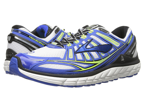 Brooks - Transcend (Passat Grey/Electric/Black) Men