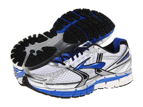 Brooks - Adrenaline GTS 14 (White/Electric/Silver) Men