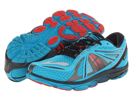 Brooks - PureCadence 3 (Caribbean Sea/Black/High Risk Red) Men's Running Shoes