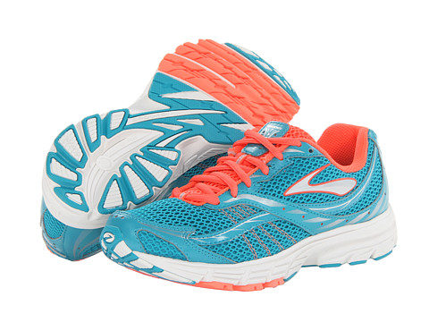 Brooks - Launch (Caribbean/Silver/Fiery Coral) Women