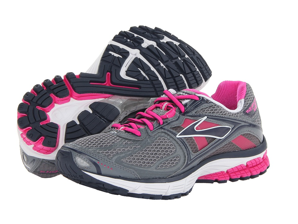 Brooks - Ravenna 5 (Pink Glow/Primer Grey/Midnight) Women's Running Shoes