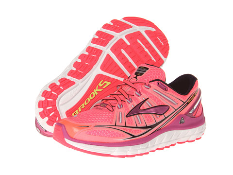 Brooks - Transcend (Diva Pink/Festival Fuschia/Black) Women's Running Shoes