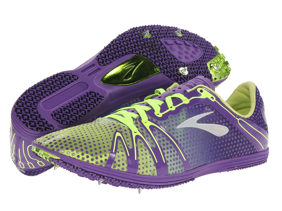 Brooks The Wire 3 (Royal Purple/Nightlife/Silver) Running Shoes