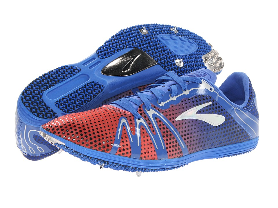 Brooks The Wire 3 (Electric/Fiery Coral/Alloy) Running Shoes