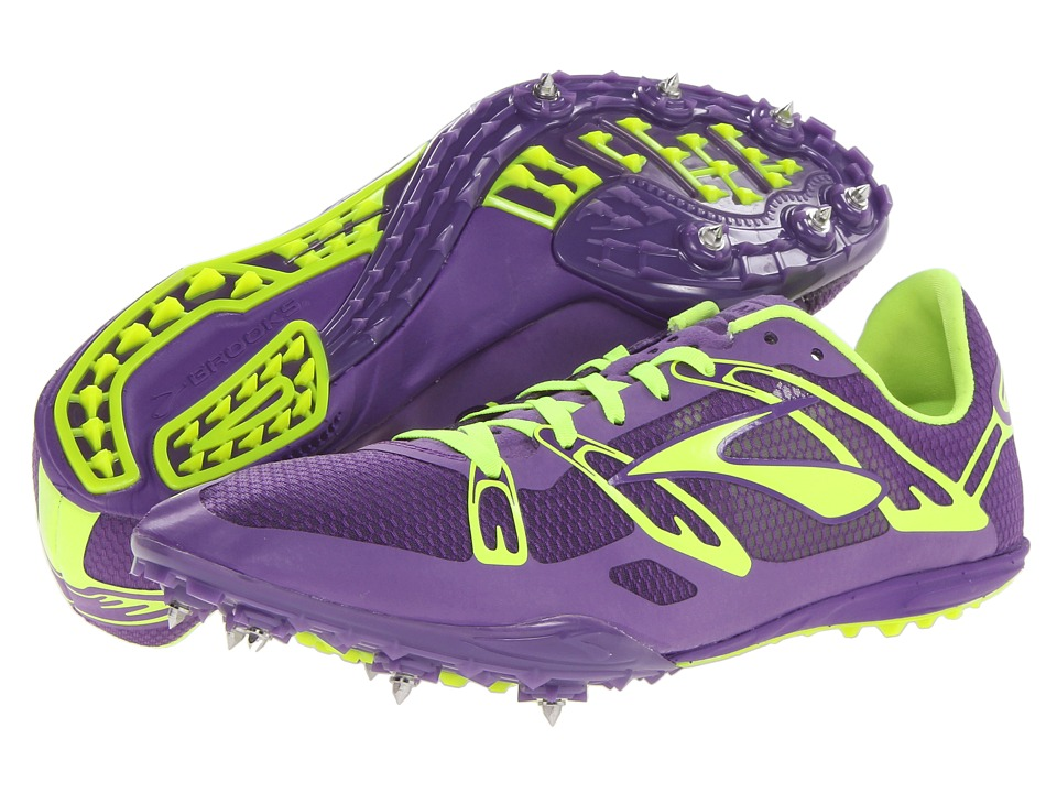 Brooks 2 Elmn 8 (Royal Purple/Nightlife) Running Shoes