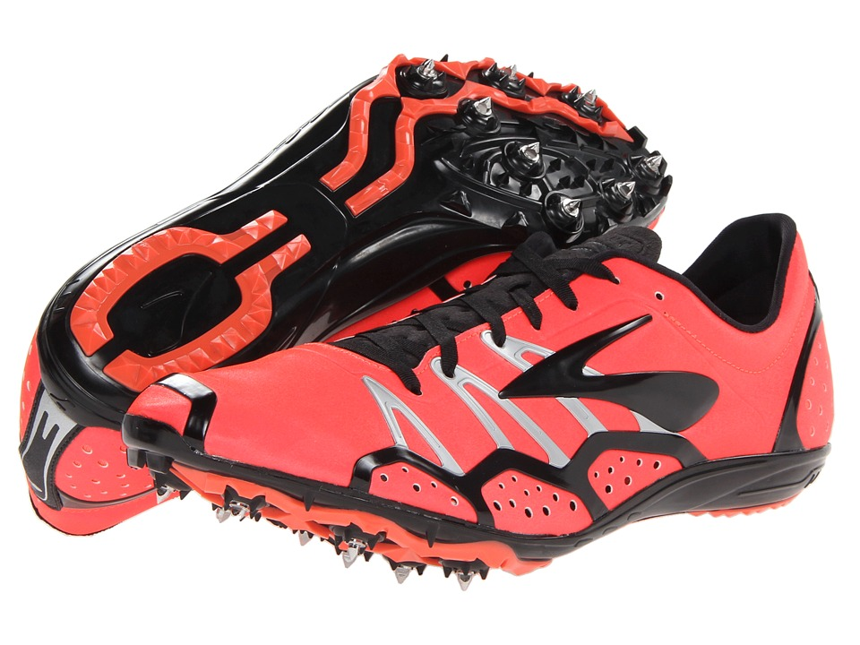 Brooks - 2 Qw-k (Fiery Coral/Black/Silver) Running Shoes
