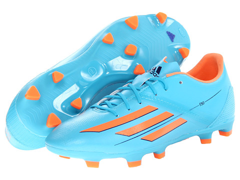 adidas - F30 TRX FG W (Samba Blue S14/Glow Orange S14/Collegiate Purple) Women's Soccer Shoes