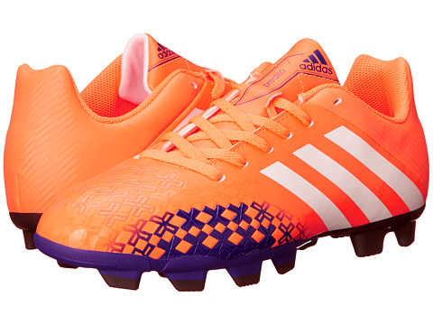 adidas - Predito LZ TRX FG W (Glow Orange S14/Running White FTW/Collegiate Purple) Women's Soccer Shoes