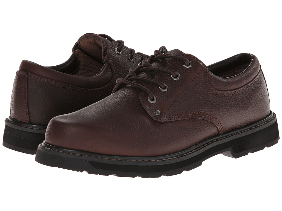 Dr. Scholl's - Harrington (Brown Leather) Men's Lace up casual Shoes