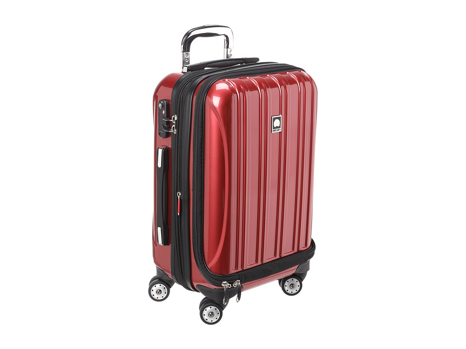 Delsey - Helium Aero - 19 International Carry-On Expandable Trolley (Red) Carry on Luggage