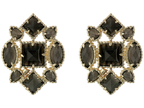 Kendra Scott - Virginia Studs (Black Cats Eye) Earring